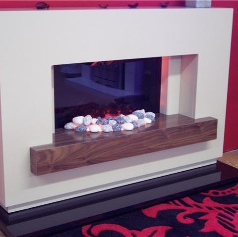 SAVONA CONTEMPORARY ELECTRIC FIRE SUITE