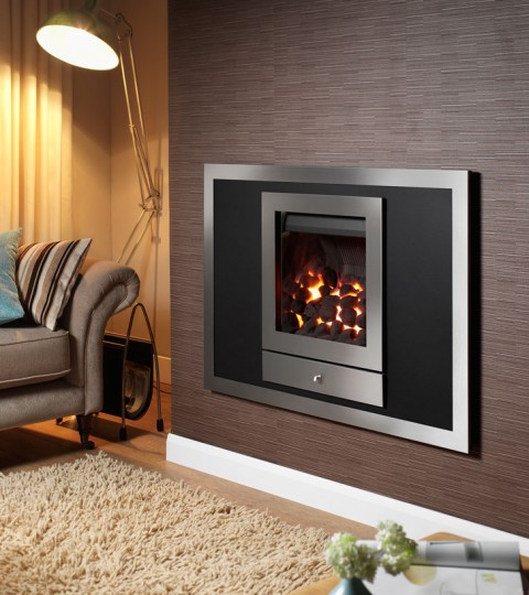 OPTIONS 1 FOUR SIDED HOLE IN THE WALL GAS FIRE