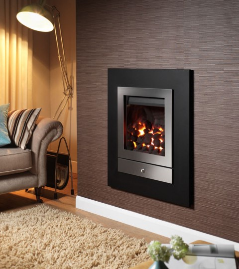 OPTIONS 2 FOUR SIDED HOLE IN THE WALL GAS FIRE