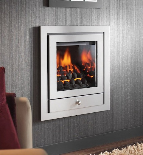 OPTIONS 6 FOUR SIDED HOLE IN THE WALL GAS FIRE