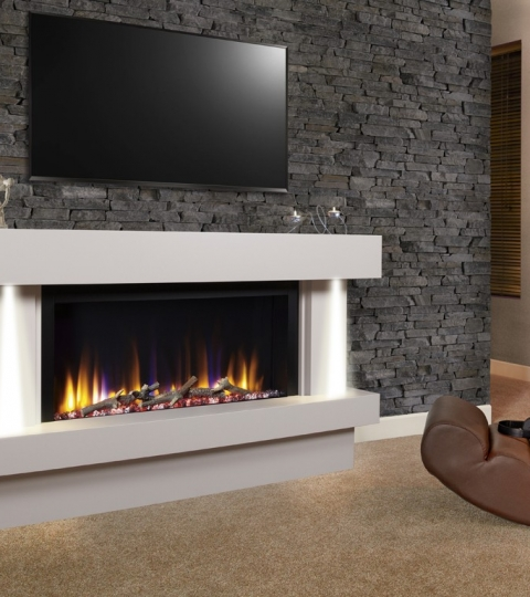 ELECTRIC FIRE SUITE VR33