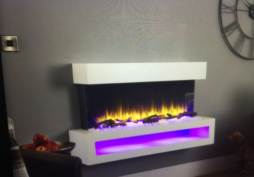 VR 900 ELECTRIC WALL MOUNTED FIRE SUITE