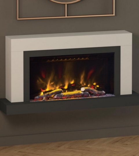 ELGIN & HALL VARDO 47″ PRYZM WALL MOUNTED ELECTRIC SUITE-CASHMERE & ANTHRACITE