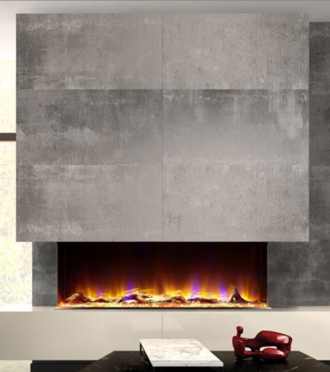CELSI 3 SIDED ELECTRIFLAME VR 1100 INSET ELECTRIC FIRE