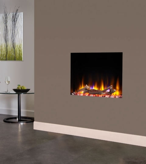 CELSI ULTIFLAME VR CELENA 24″ WALL MOUNTED INSET ELECTRIC FIRE