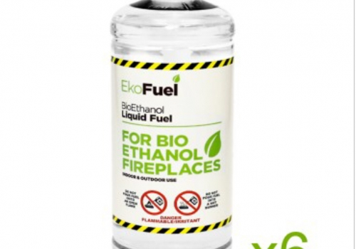BIO ETHANOL FUEL FOR FIREPLACES-6LITRES